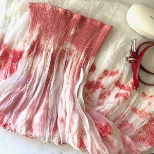 Anthropologie-Lapis Bohemian Midi Dress/Maxi Skirt